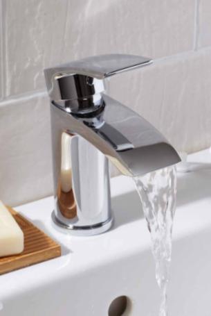 Bathworks Essentials Temple Mono Basin Mixer Tap