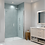 Thumbnail: Series 8 Frameless Pivot & Inline Shower Door - 1000mm
