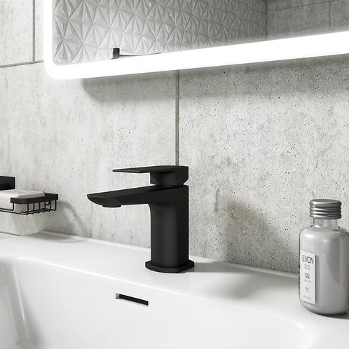 Bathworks Essentials Luxury Mono Basin Mixer Tap - Matt Black