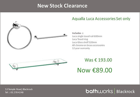 Aqualla Luca Accessories set only