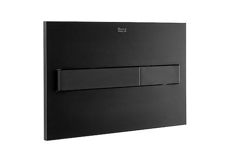 Roca PL7 Dual Flush Plate || Matt Black