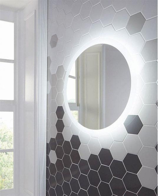 Bathworks Essentials Round LED Back Lit Mirror - 600mm