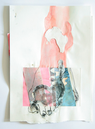 o.T (Fuß Collage)