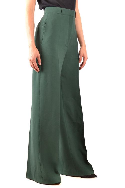 Burberry - Pantalon Oversize vert