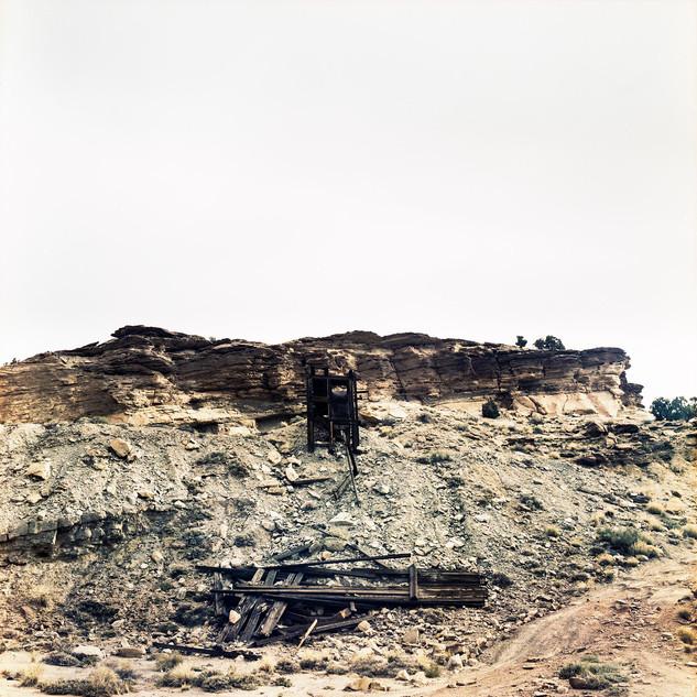 Ore Ramp built on Mine Waste