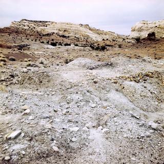 Field of Radioactive Mine Waste