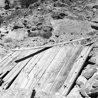 Copper Mine Imploaded Shaft