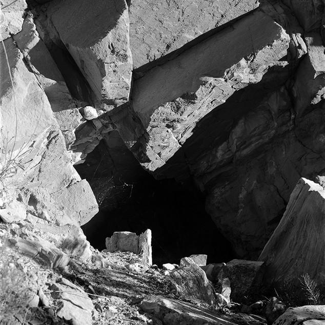 "Frieda Mine #2, 2017, 40""x60"", Digital Pigment Print, Moab, Utah"