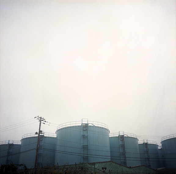 "Fukushima Contaminated ""Heavy Water"", 40""X40"", 2019, Digital Pigment Print, Fukushima Daiichi Exclusion Zone, Ottawa, Japan"