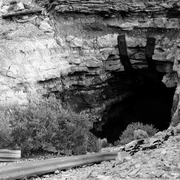 Sealed Mine Shaft