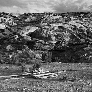 "Poison Strip Mine #4, 60""x40"", 2017, Digital Pigment Print, Poison Strip, Yellow Cat Mining Complex, Utah"