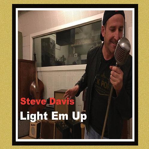Light Em Up CD  / With Poster Signed