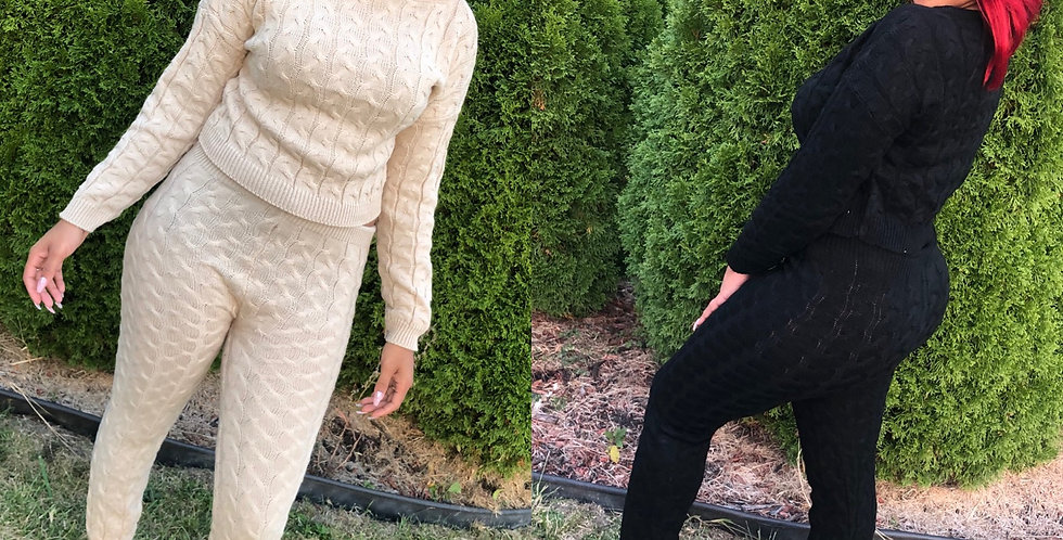 So Relaxed knit set
