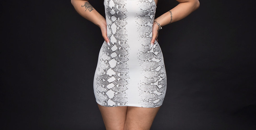 Anaconda dress