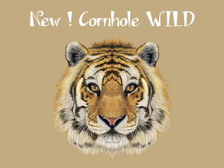Nuova collezione 2018! Oggi, il cornhole WILD TIGER