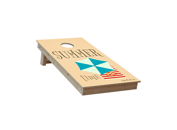 CORNHOLE SUMMER TIME TRAVEL 2 jugadores