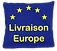 Livraison Europe de nos cornholes