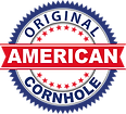 Original american cornhole badge