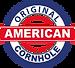 American cornhole badge