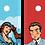 Thumbnail: CORNHOLE POP ART 4 giocatori