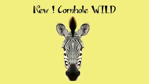 ¡Nueva colección 2018! Hoy, el Cornhole WILD ZEBRA