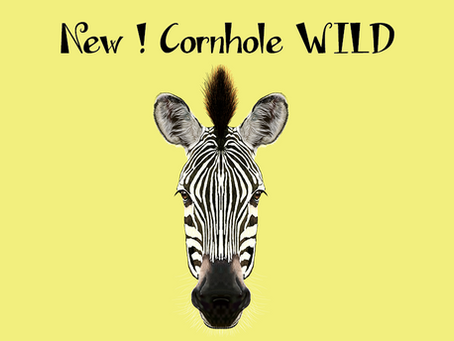 Nuova collezione 2018! Oggi, il cornhole WILD ZEBRA