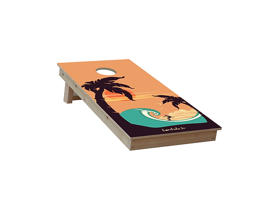 CORNHOLE SURF RIDER TRAVEL 2 giocatori