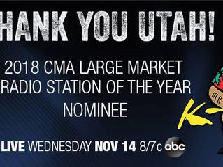 Nominated for a CMA award!