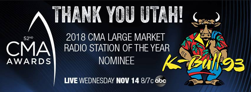 One of the stations LAM produces for was nominated for a CMA Award!