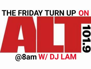 DJ LAM on ALT101.9fm