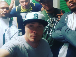Staying busy in the studio with Cutthroat mob, Daniel Lin, red meat radio, and Equity Real Estate ju