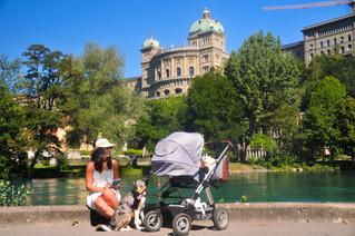 BZ-Schatzsuche: Ein Tagesausflug mit Baby in Bern