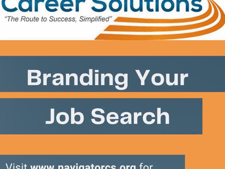 Martha's Monday Minute: Branding Your Job Search