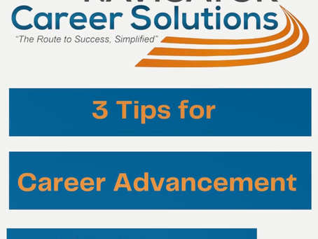 Martha's Monday Minute: 3 Tips for Career Advancement