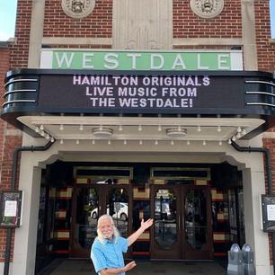 """""""Hamilton Originals"""" on The Westdale marquee"""