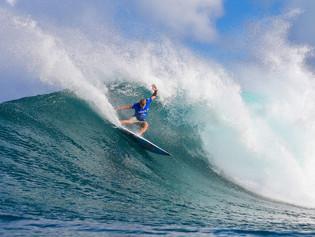 Mick Fanning é o vencedor do Vans World Cup of Surfing em Sunset Beach