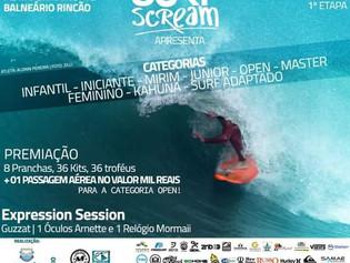 1ª Etapa SurfScream Catarinense de Surf 2016