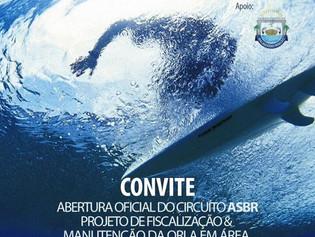 Convite Confraternização do Circuito ASBR de Surf - 2015/2016