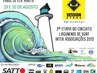 2ª Etapa do Circuito Lagunense de Surf Inter Associações 2015