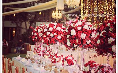 Bali wedding florist decoration project 20 red rose infinity garden conrad bali junglespirit Choice Image