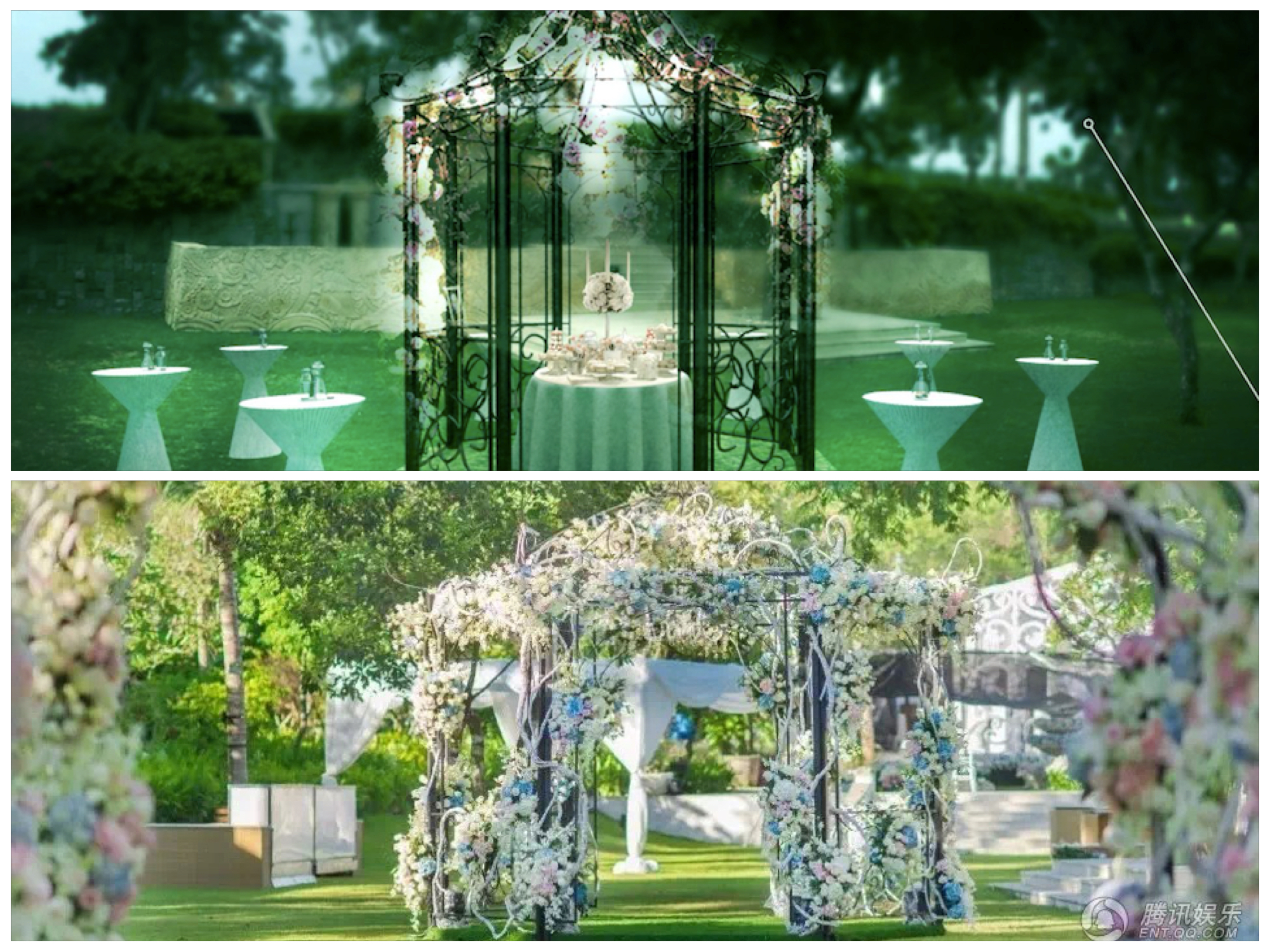 3D Design to reality wedding bali