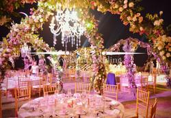 bali reception dinner area