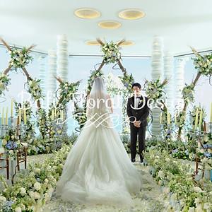 在巴厘岛举行婚礼