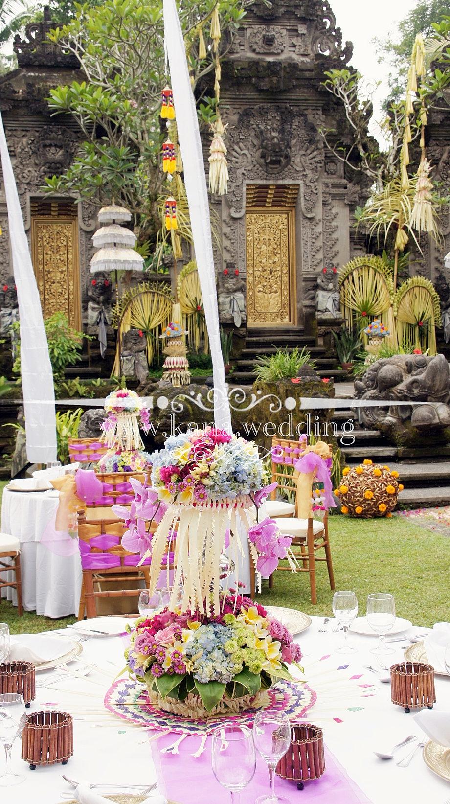 Ubud balinese wedding decoration florist junglespirit Images