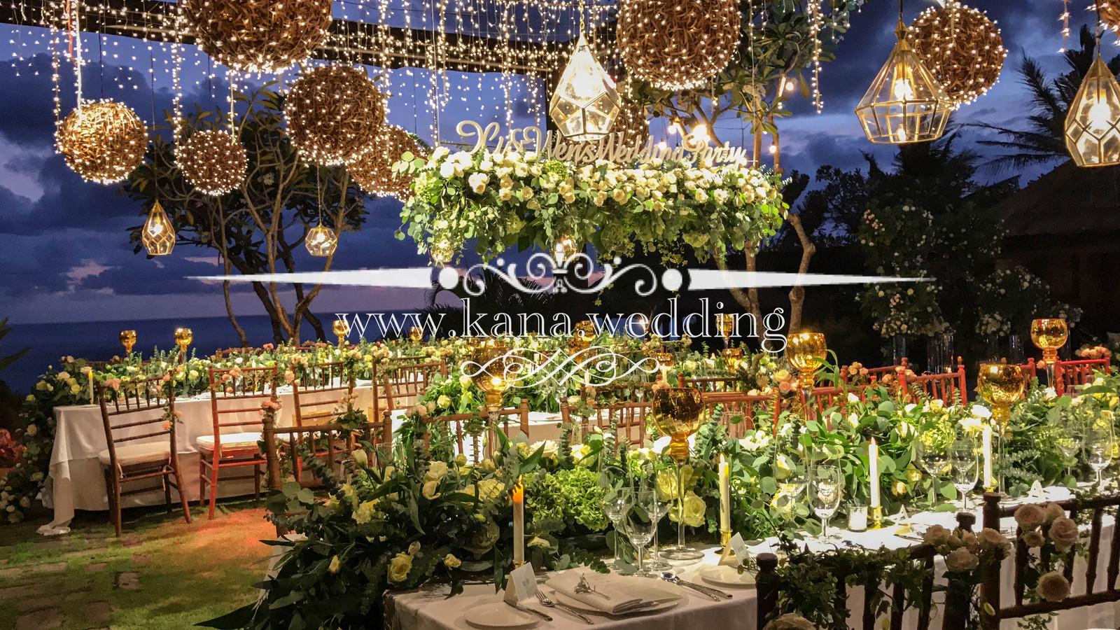 Bali Wedding Decoration