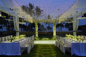 wedding dinner in bali
