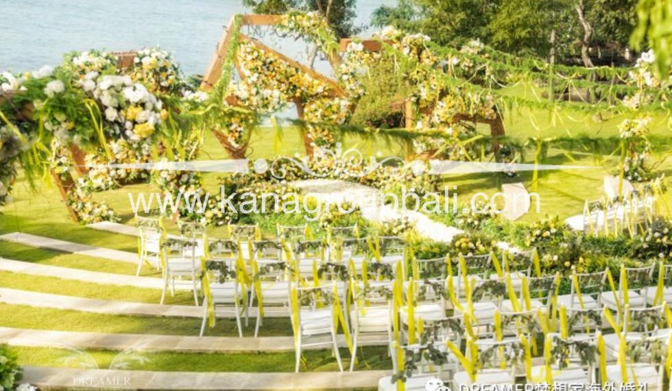 hexagonal wedding theme bee.jpg