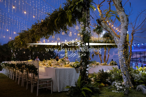 alila uluwatu villa wedding reception