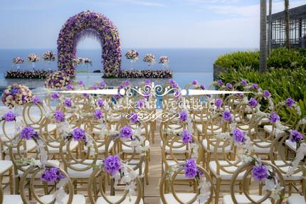 acrylic floating stage ceremony decoration