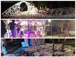 wedding production on progress bali